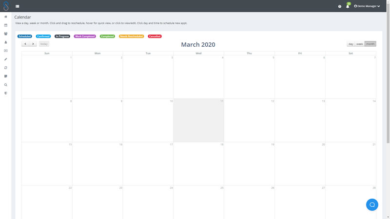 PinPoint Drag and Drop Calendar